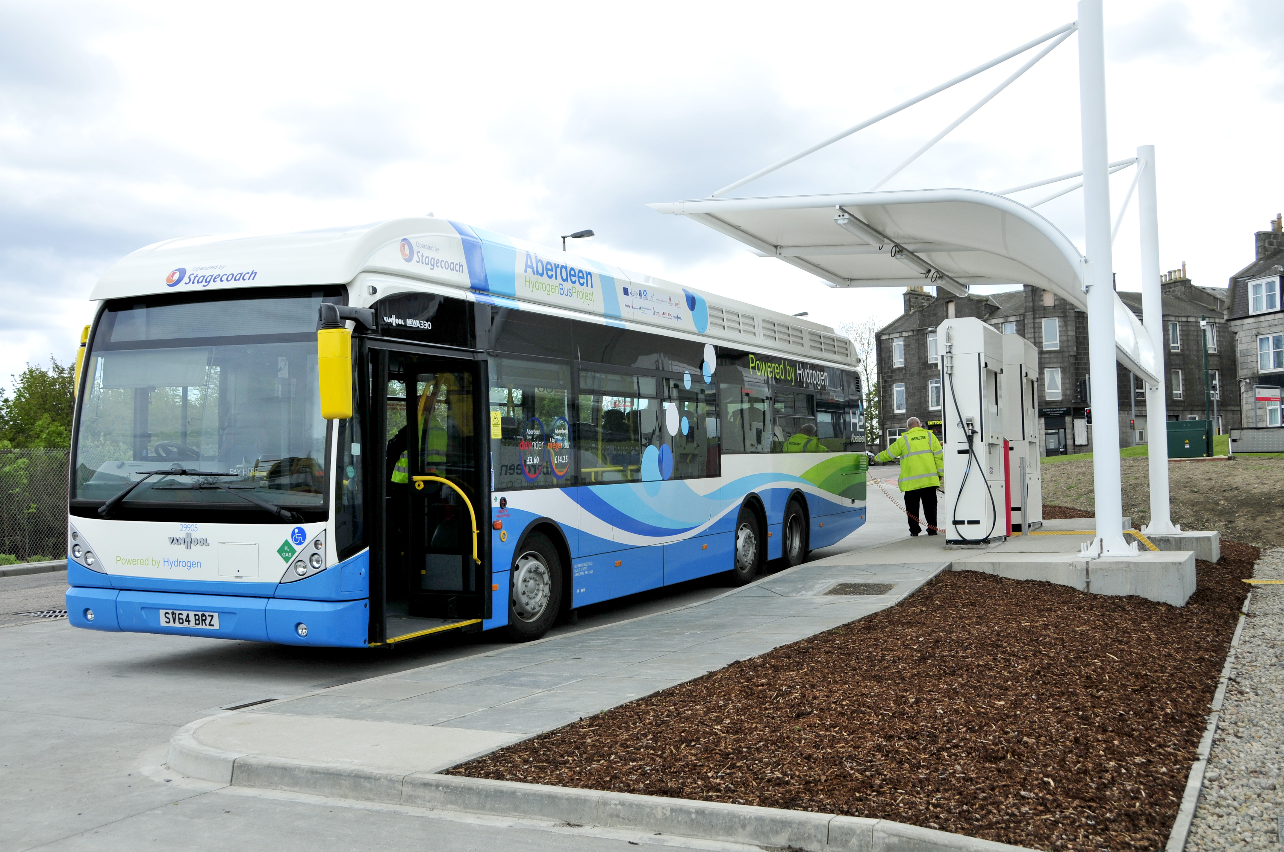 Aberdeen Fuel Cell Electric Buses